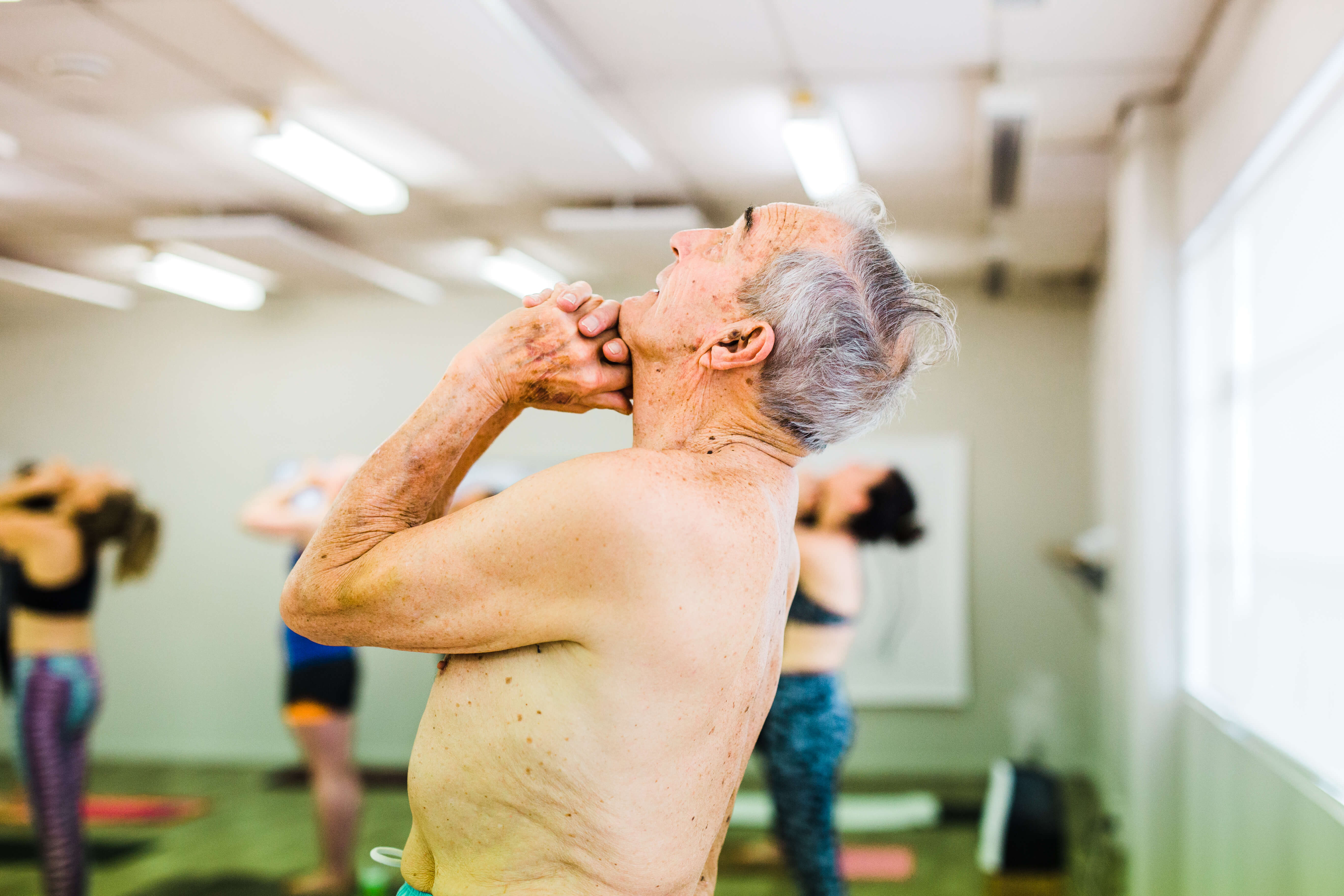 Our Wellington yoga studio welcomes people of all ages and backgrounds.